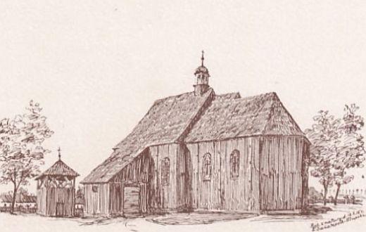 Kościół w Biskupicach Ołobocznych