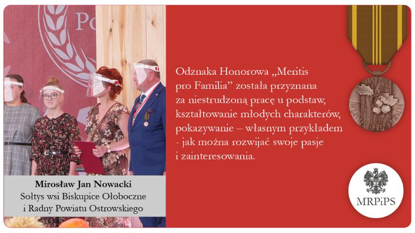 Mirosław Nowacki - odznaczenie