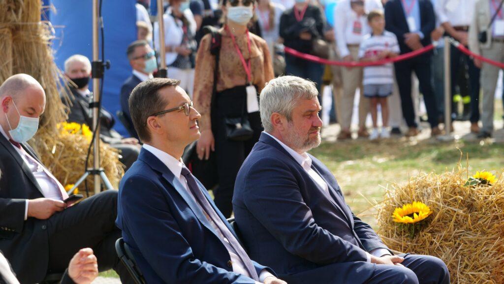 """Premier i minister rolnictwa na uroczystości """"Wdzięczni Polskiej Wsi"""""""