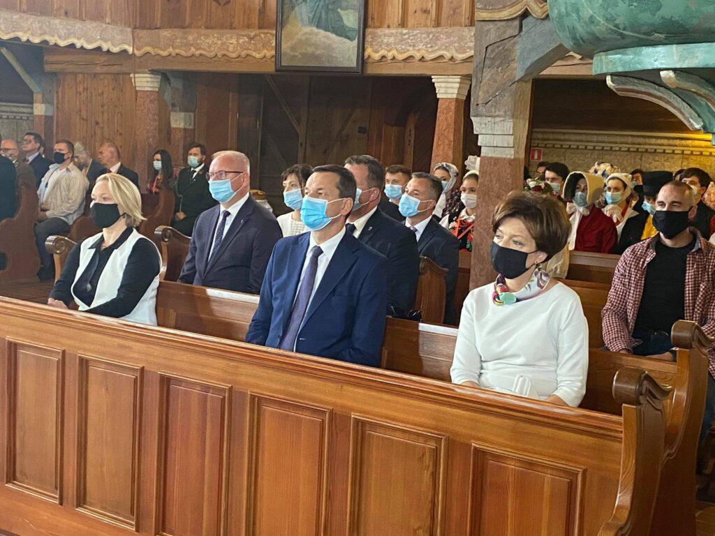 Uroczystości w kościele na Pólku pod Bralinem