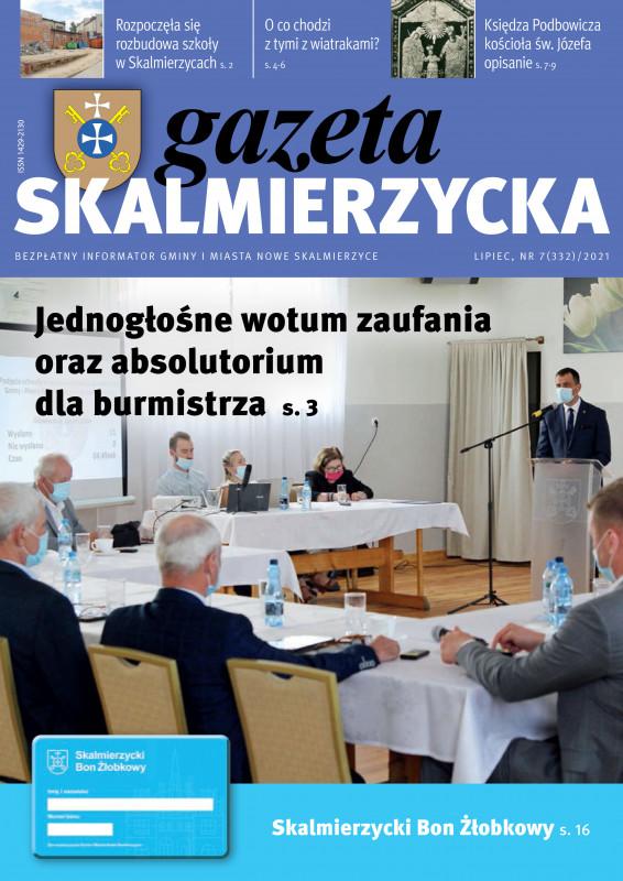 Okładka gazety skalmeirzyckiej