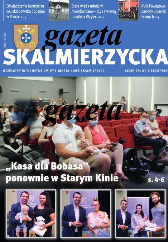 Gazeta Skalmierzycka siepień 2021