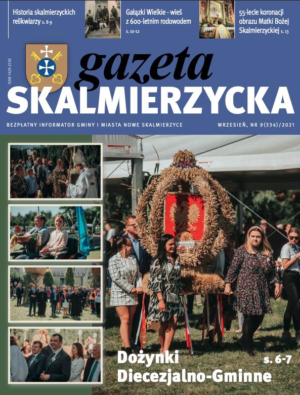 okładka gazety skalmierzyckiej